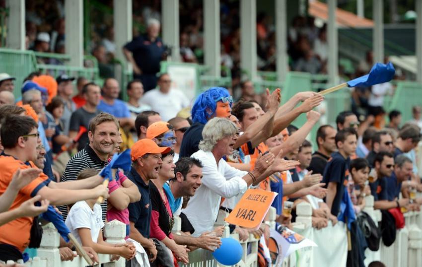 Les supporters de VARL XIII