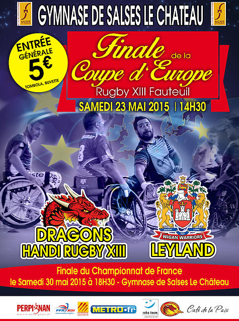Programme du week end 23 24 mai 2015 f d ration fran aise de rugby xiii - Programme coupe d europe de rugby ...