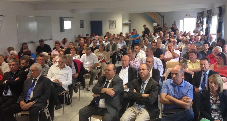 Plus de 150 personnes ont assisté à l'Assemblée Plénière