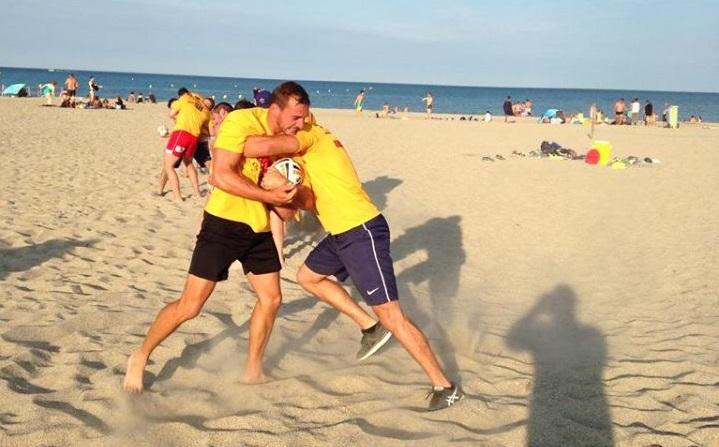 Les Broncos à la mer, version Rugby à XIII