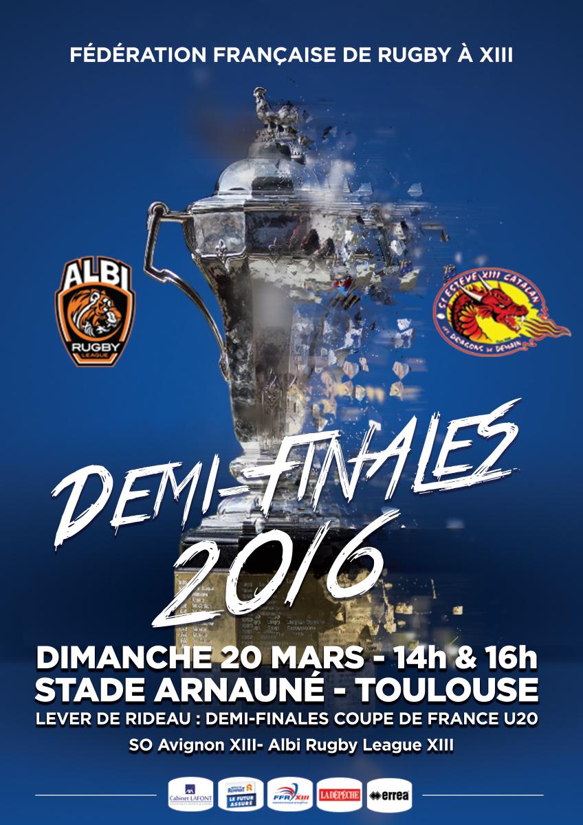 Cdf 2016 affiches et lieux des demi finales d voil s - Places finale coupe de france ...