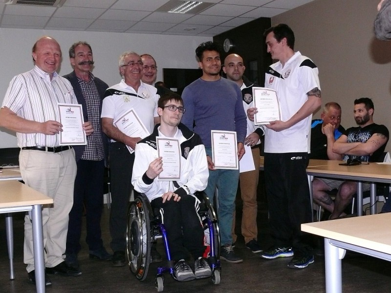 remise des diplomes XIII Fauteuil