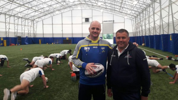 France u18 sur les installations de Warrington jf Albert avec Richard ag...